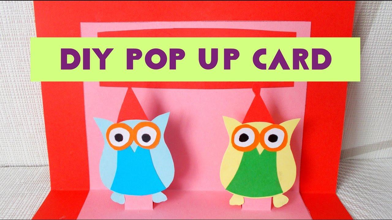 DIY Card Ideas Easy Pop Up Birthday