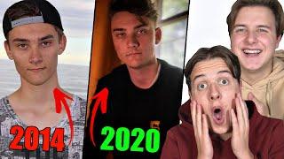 Danske Youtuber FØR vs EFTER pt. 3 - (SYG FORANDRING)