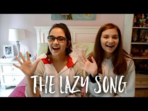 The Lazy Song - Bruno Mars   Sign Language