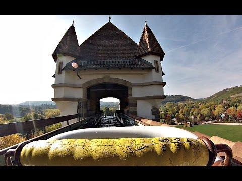 Badewannen Fahrt zum Jungbrunnen - Erlebnispark Tripsdrill (Onride) Video 2015