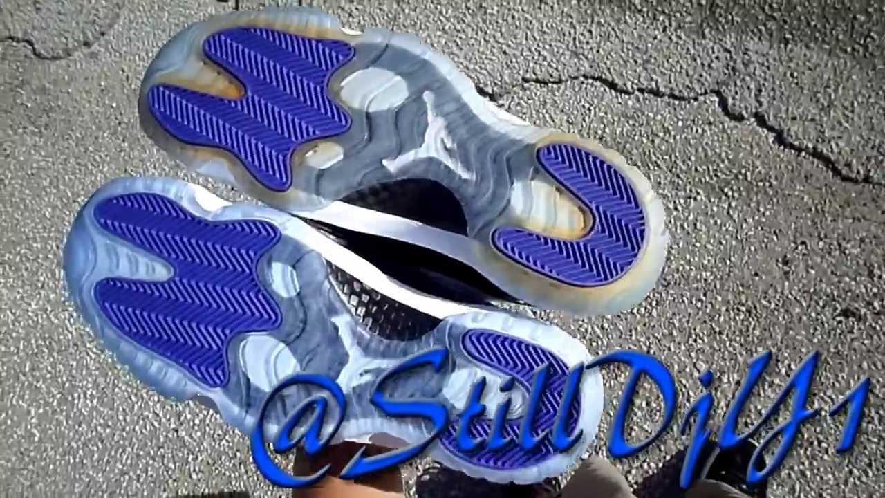 Air Jordan 11 Consonances Sole Jaune