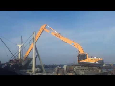 Ayke Makina Uzun Bom Deniz Tarama Long Reach Uzun Bom