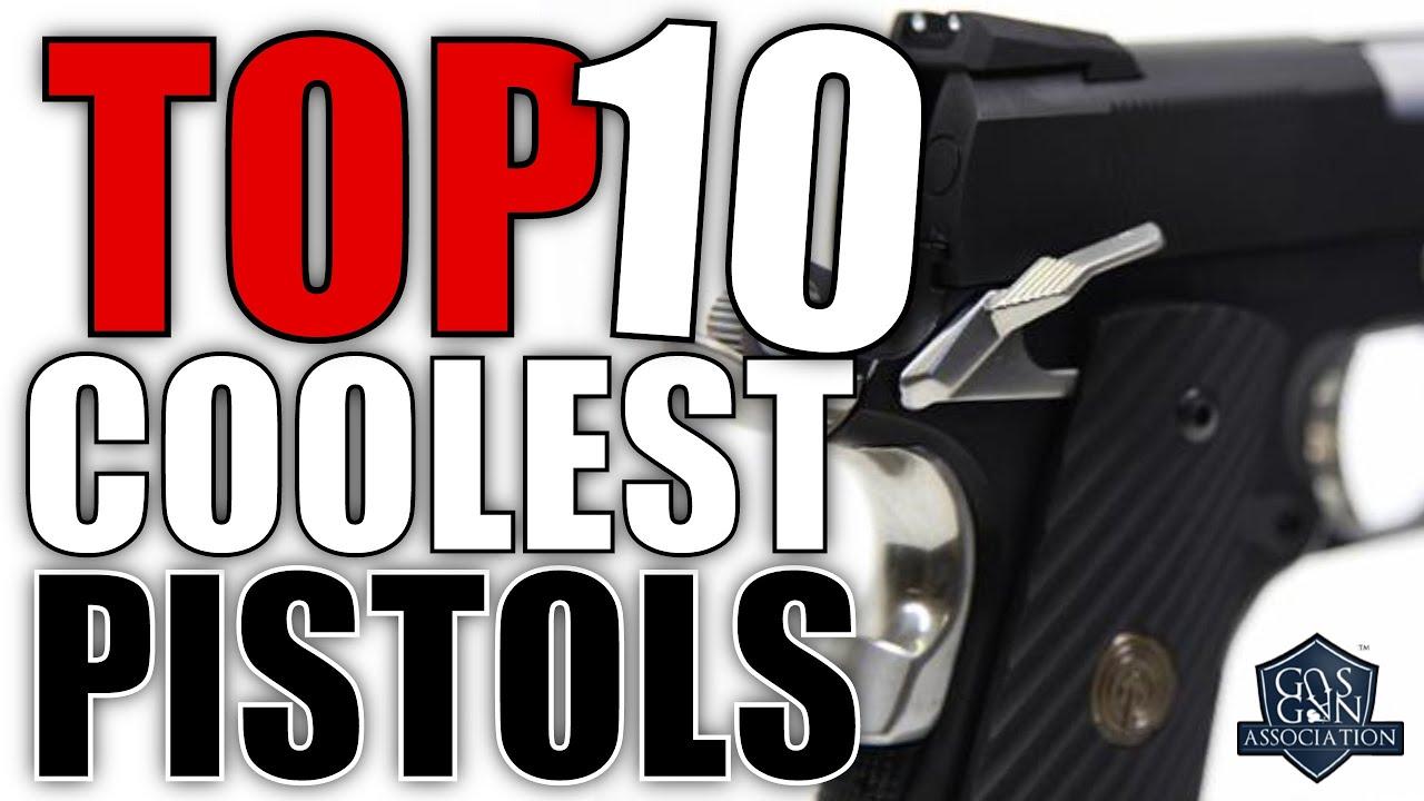 Top 10 Airsoft Pistol Builds - Hi-Capas a Halo Magnum & a Blaster?