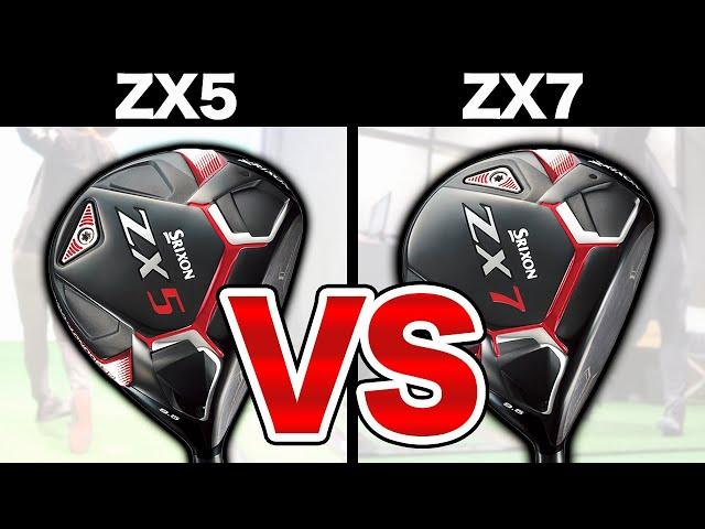 【新作スリクソン ZX5試打 #1】新作ドライバーをレッスンプロが徹底試打比較!!【SRIXON ZX5 / ZX7】