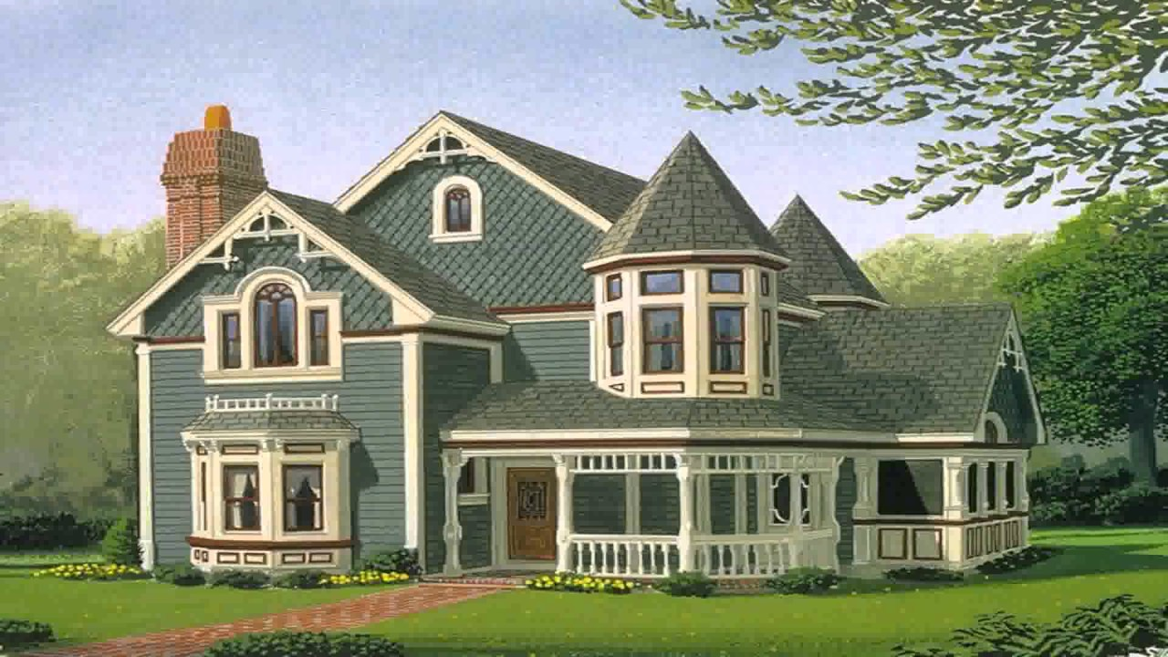 Old Style Victorian House Plans Youtube