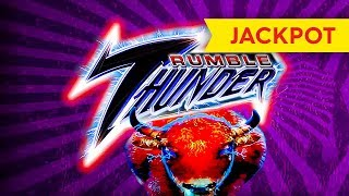 JACKPOT HANDPAY! Rumble Thunder Slot - AWESOME Session, SUPER SWEET!