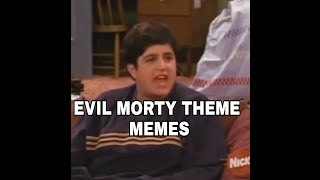 EVIL MORTY THEME MEMES COMPILATION