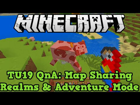 Minecraft Xbox + PS3 TU19 QnA:  Adventure Mode, Realms and Map Sharing