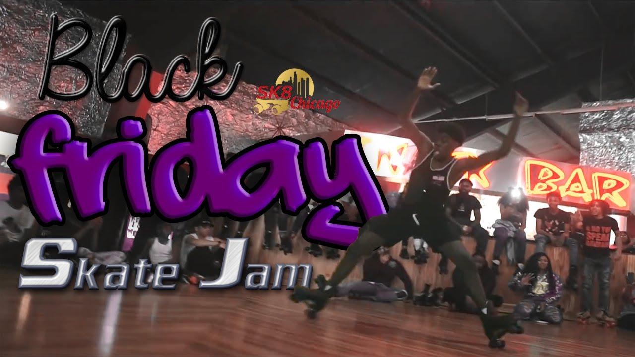 2018 black friday skate jam lynwood roller rink youtube. Black Bedroom Furniture Sets. Home Design Ideas