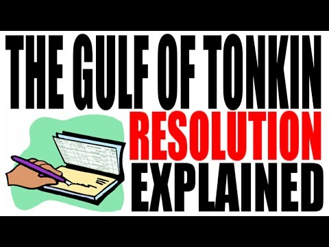 The Gulf of Tonkin Resolution Explained: US History Review
