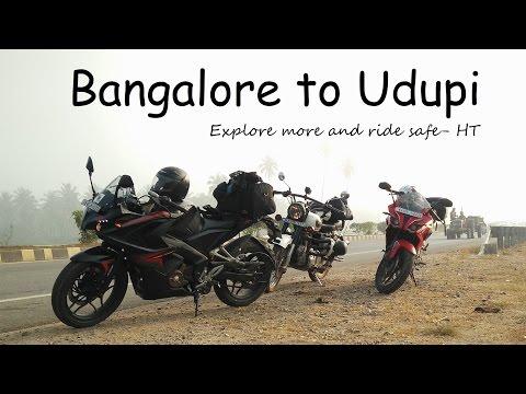 Bangalore to Udupi | 430 Kms | Curvy Roads | HT First Vlog