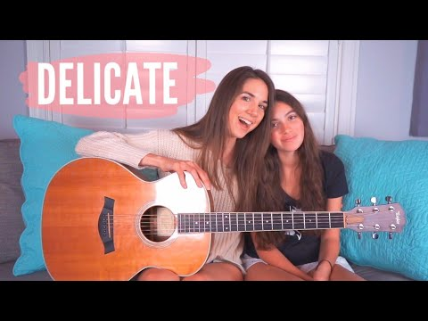 Delicate - Taylor Swift (Cover) ft. Andrea