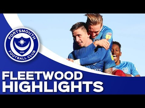 Highlights: Portsmouth 1-0 Fleetwood Town