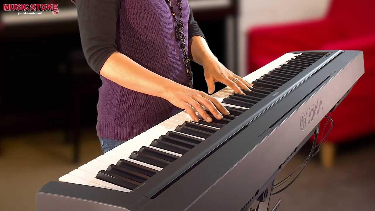 yamaha p 35 stage piano mit 88 tasten demo test sound youtube. Black Bedroom Furniture Sets. Home Design Ideas