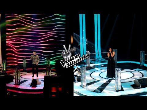 Andi Nika - Mirrors VS Kleopatra Tuni - Big girls cry (Knockout | The voice of Albania 5)