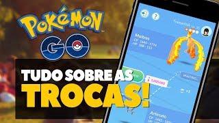 TROCAS, LISTA DE AMIGOS E PRESENTES CHEGAM NO POKÉMON GO!