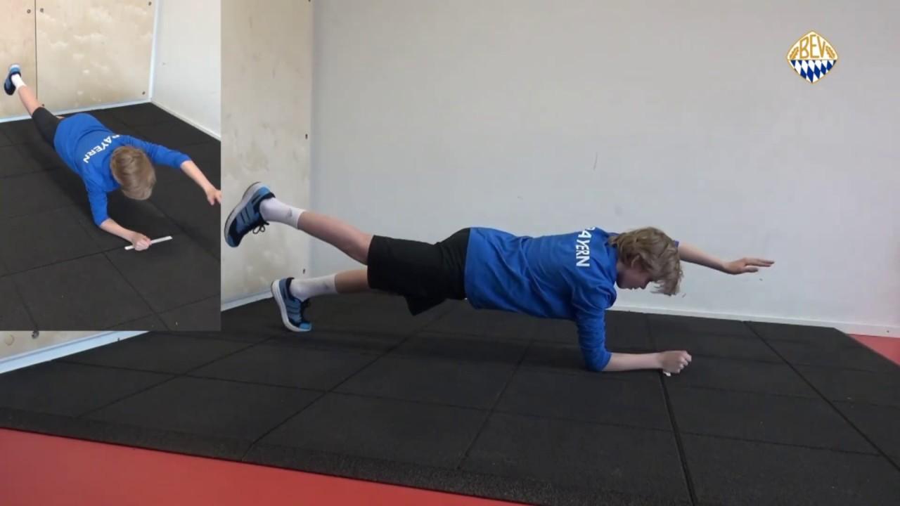 Haltegymnastik Teil 4