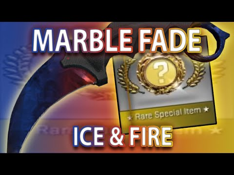 CS:GO KARAMBIT MARBLE FADE UNBOX (MY BEST KNIFE)