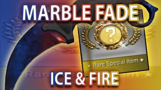 CS:GO KARAMBIT MARBLE FADE UNBOX (MY BEST KNIFE)