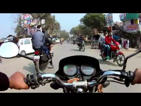 Kharihani to Azamgarh Routes full journey in The Bike part 1,Relaxing video