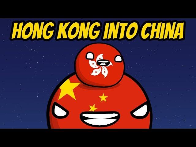 Hong Kong's Extradition bill - Countryball animation