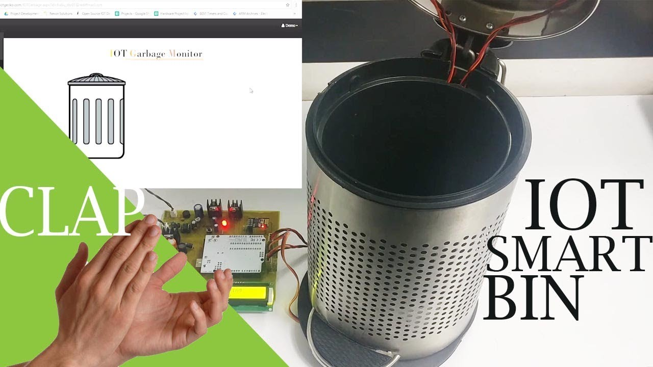 Smart Dustbin With IOT Notifications