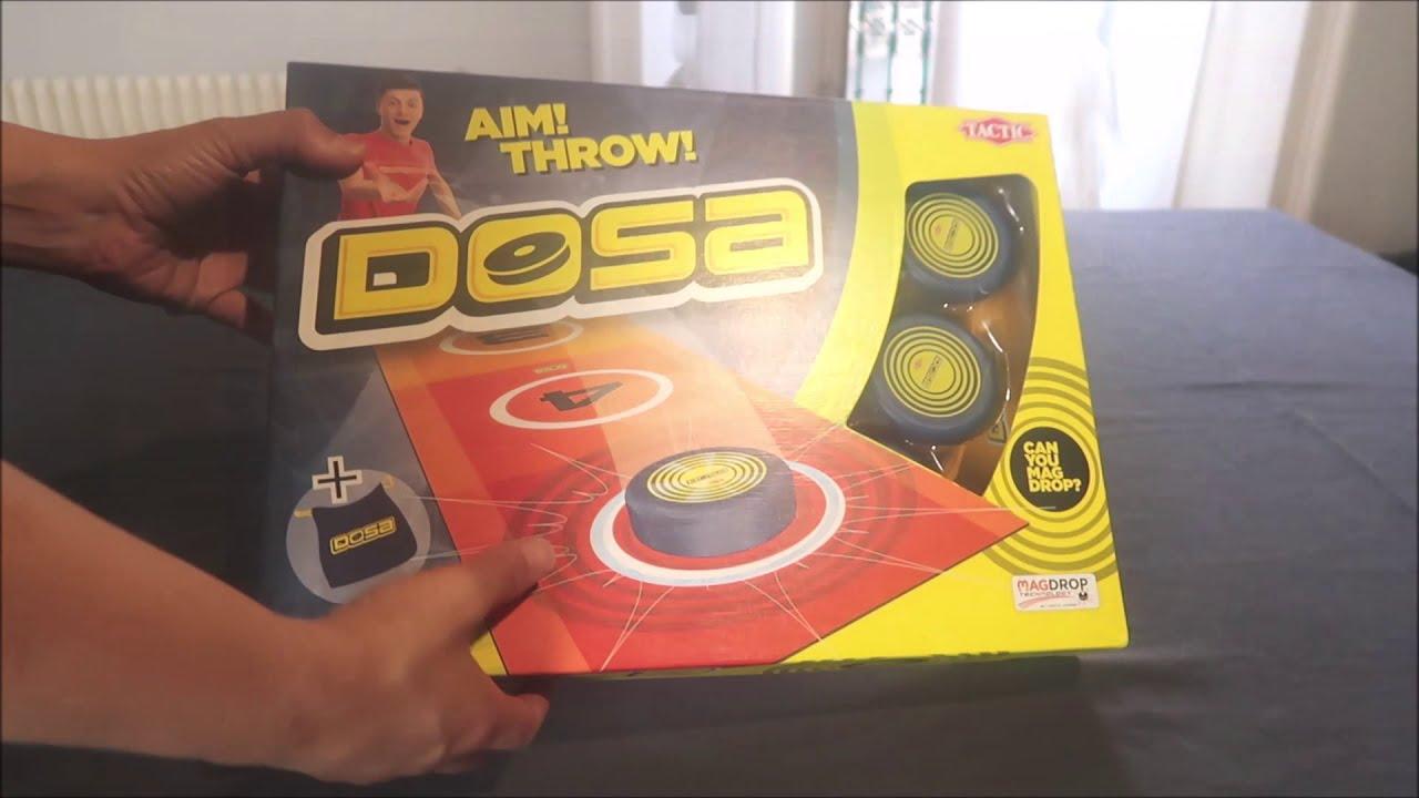 Présentation rapide du jeu Dosa de chez Tactic