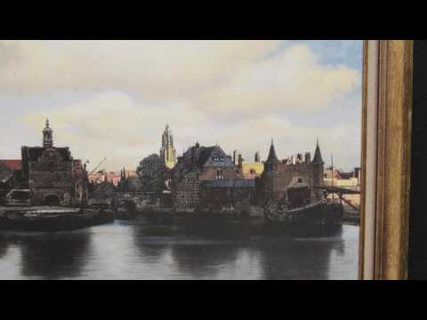 View of Delft de Johannes Vermeer em Telas fantásticas