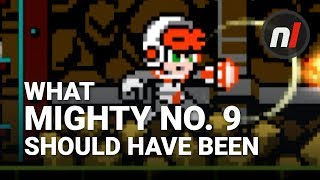 This is the Game Mighty No. 9 Should Have Been   Mighty Gunvolt Burst on Nintendo Switch