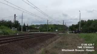 [Transchem] E186 429-7 | Nowy TRAXX u przewoźnika | Poznań Zieliniec