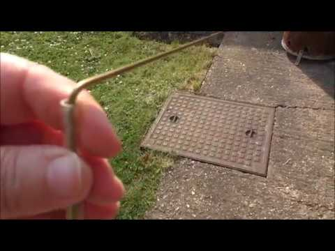 Dowsing Rods - using rods to find things