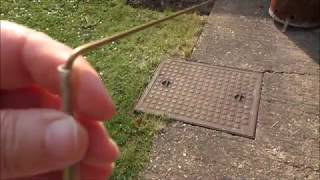 dowsing rods using rods to find things