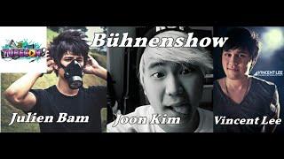 Bühnenshow Vincent Lee, Julien Bam & Joon Kim (TubeCon 2016 Oberhausen)