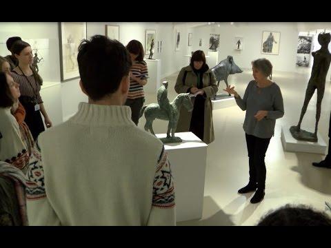 Elisabeth Frink Gallery Tour