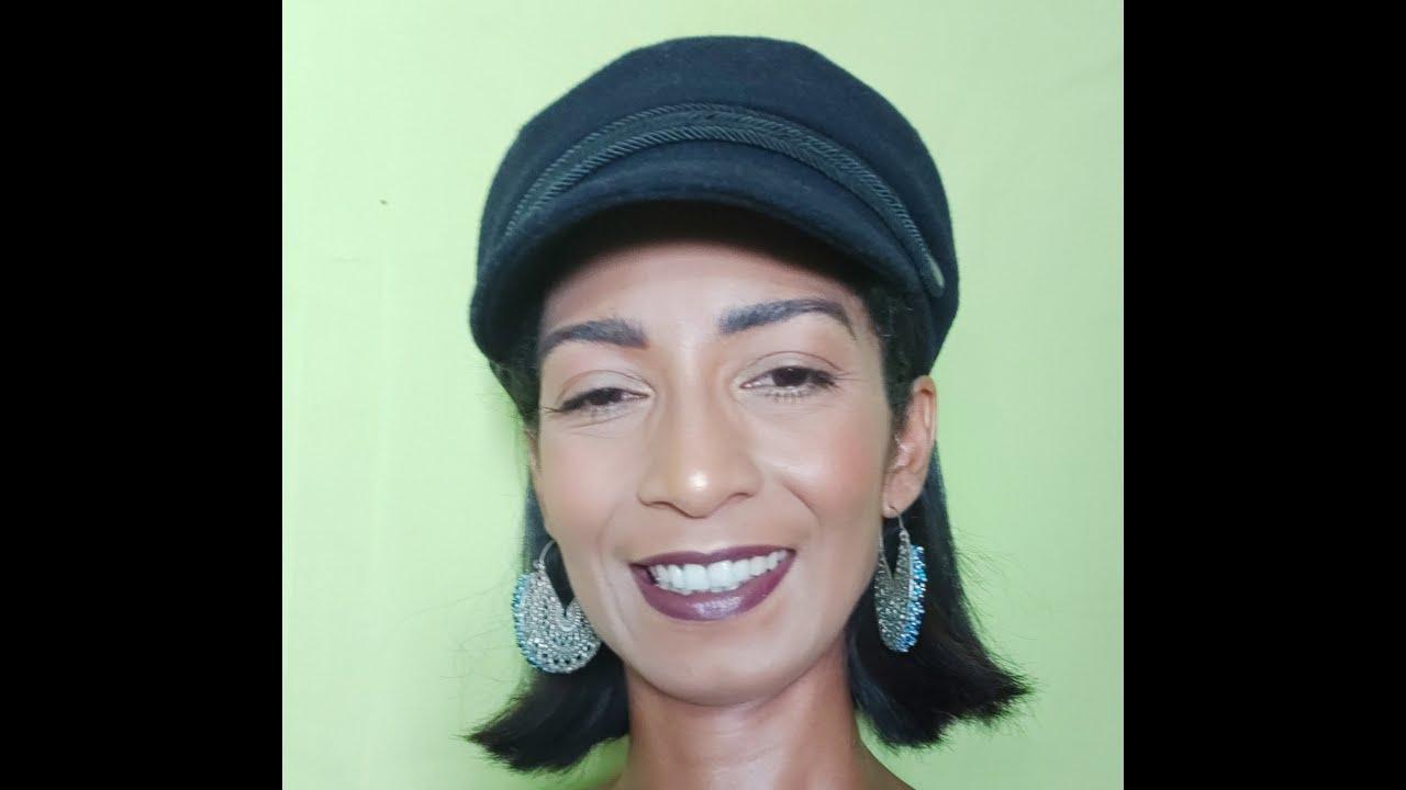 Maquillage Nude l Peaux Noires - YouTube