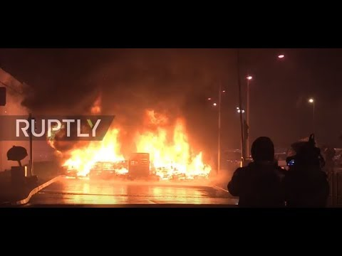 France: Attacks on prison guards fire up nationwide strike