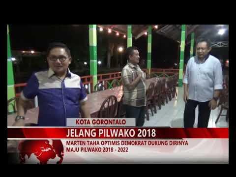 MIMOZATV GORONTALO - MARTEN TAHA OPTIMIS DEMOKRAT DUKUNG DIRINYA MAJU PILWAKO 2018   2022
