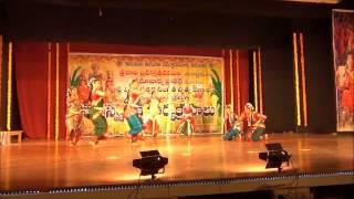Brahmam okate dance @ Tirupati Brahmotsavam -2012