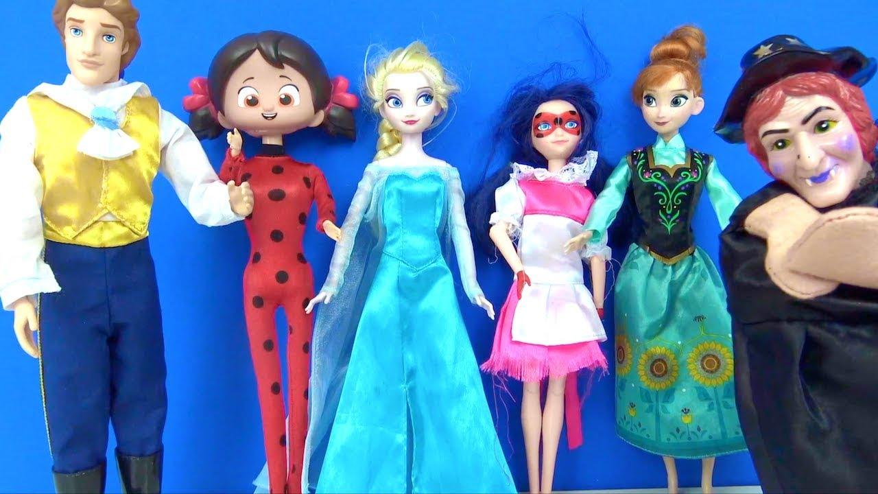 Frozen Elsa Mucize uğur böceği Niloya Merinete dönüştü! tatlı Peri  kime sihir yaptı?