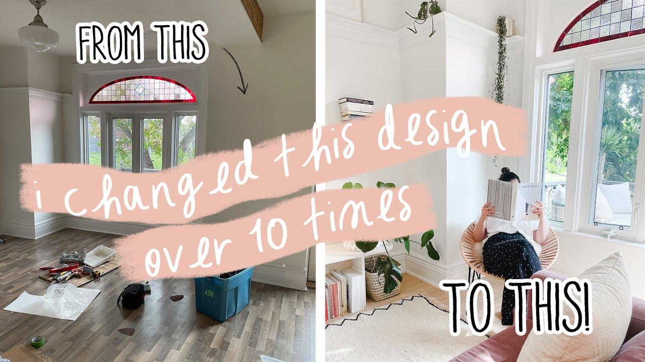 Creating my *DREAM* Living Room!   Scandi-Style Floors   My Rental Reno S3 E4
