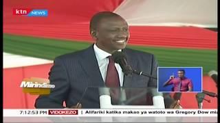 Naibu wa Rais William Ruto amsokota Raila Odinga | MIRINDIMO