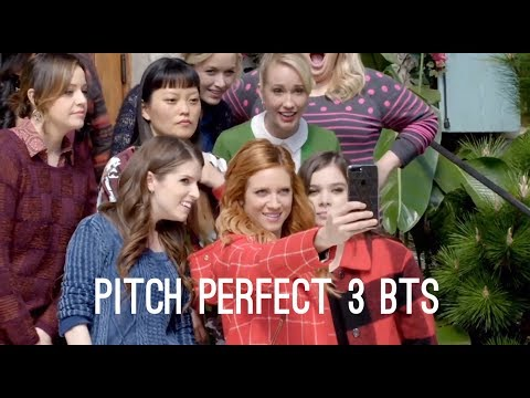 Pitch Perfect 3 Bootcamp, Dancing and Filming BTS (Anna Kendrick, Rebel Wilson Movie)