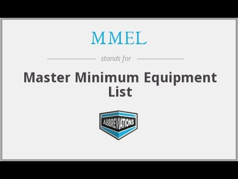 All About MMEL | MEL | CDL | Importance Of Their Requirements
