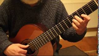 Asturias [ Leyenda ] by Isaac Albeniz Guitar Tutorial Part 7