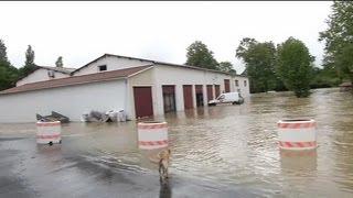 Météo: inondations et dégâts à Bidart - 09/06