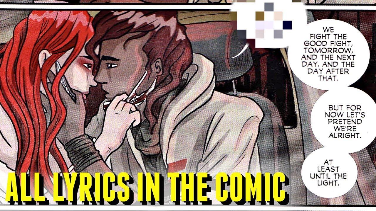 All Lights Song Lyrics In Skin Earth Comics 1 6 Spoilers Youtube