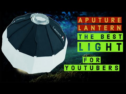 Aputure Lantern Softbox review - Best light for YouTubers