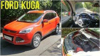 Ford Kuga - движение с комментариями(В этом видео я расскажу про Форд Куга. 13:07 - на ходу., 2016-09-01T05:00:02.000Z)