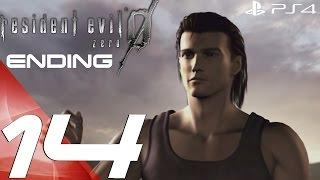 Resident Evil Zero HD Remaster (PS4) - Walkthrough Part 14 - Final Boss & Full Ending