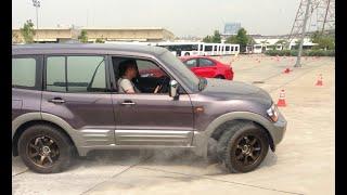Mitsubishi Pajero 2002 - Test Drive 2WD (2H) mode